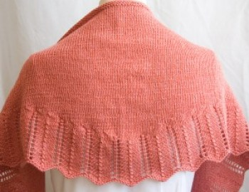 Knitting Pattern Shawl Ethel Shawl