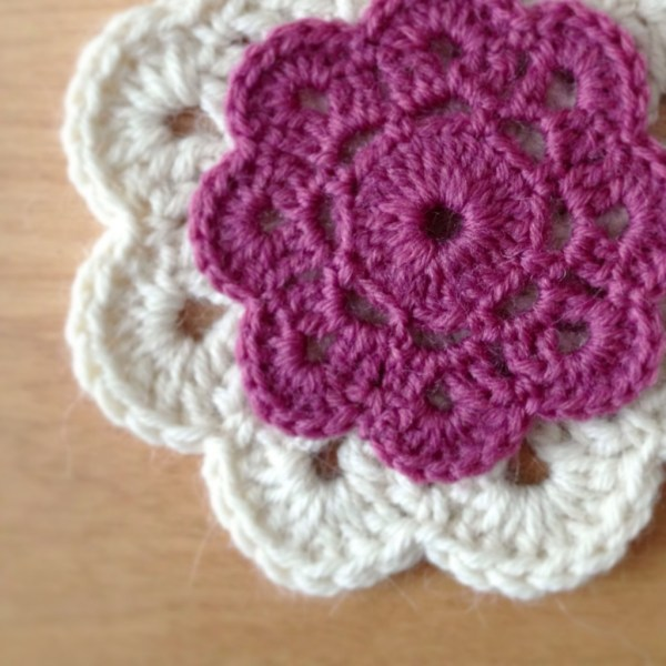 Crochet flowers - Project 365
