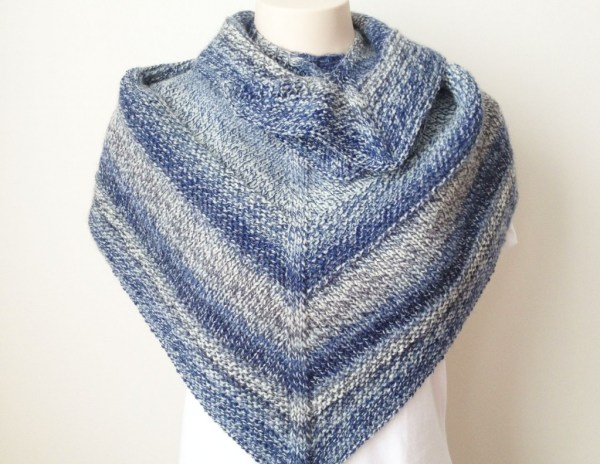 Free Knitting Pattern - Weekender Shawl