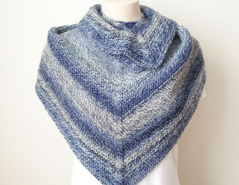 Free Knitting Patterns To Print Off : Free Knitting Pattern : Weekender Shawl