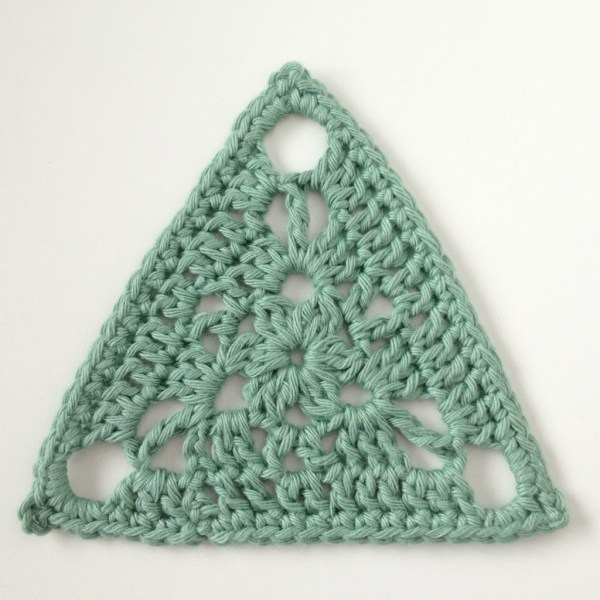 Triangular Crochet Motif