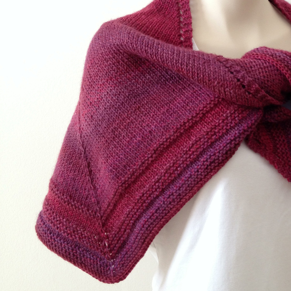 Pattern Knitted shawl