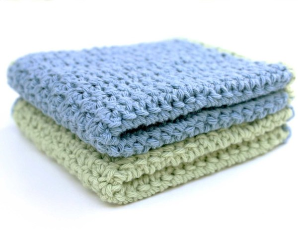 Crochet Pattern Washcloth 4