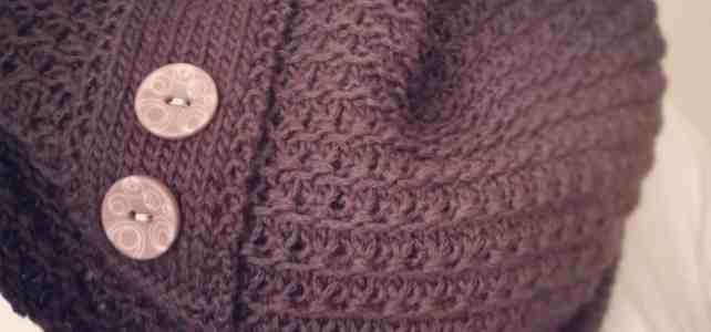 Weekend and Chocolate Knitting Pattern Cowl