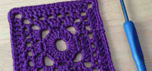 Another Square Crochet Motif, Not the Granny Square!