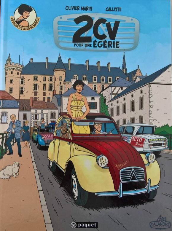 2CV pour une égérieDie spannenden Abenteuer der jungen Journalistin Margot im Frankreich der 60er!