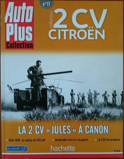 La 2CVDer 2CV als Kanonenträger?! Die französische Armee hat ihn wirklich getestet.