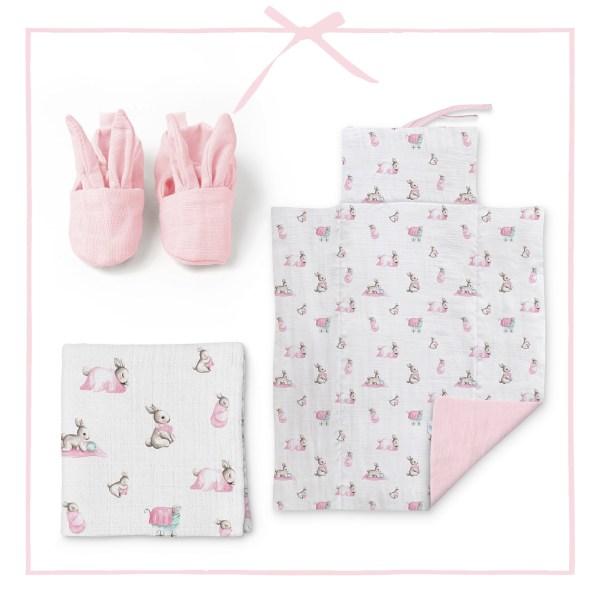 bebe-lapin-rose-hediye-seti