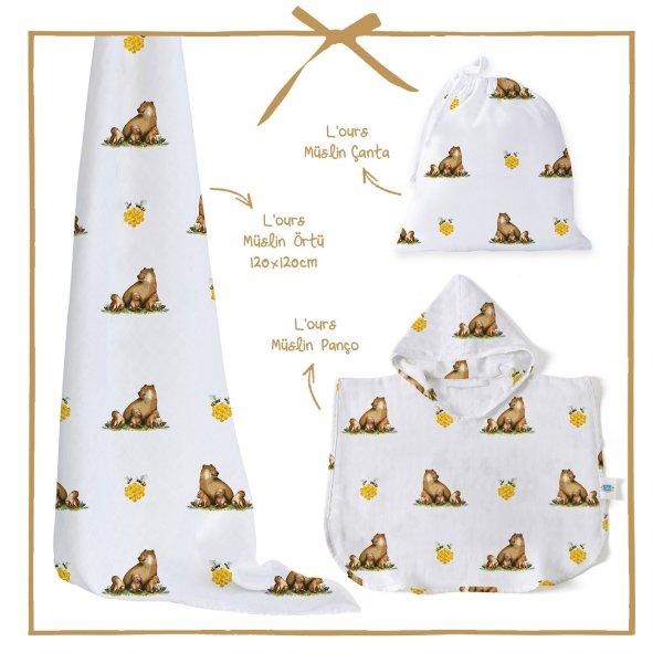 lours-muslin-bebek-panco-hediye-seti