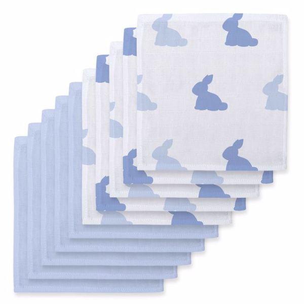 /bleu-lapin-endless-blue-10lu-muslin-bebek-agiz-bezi-paketi/