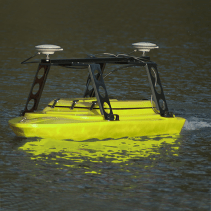 The Echo-Boat is great to otherwise inaccessible areas