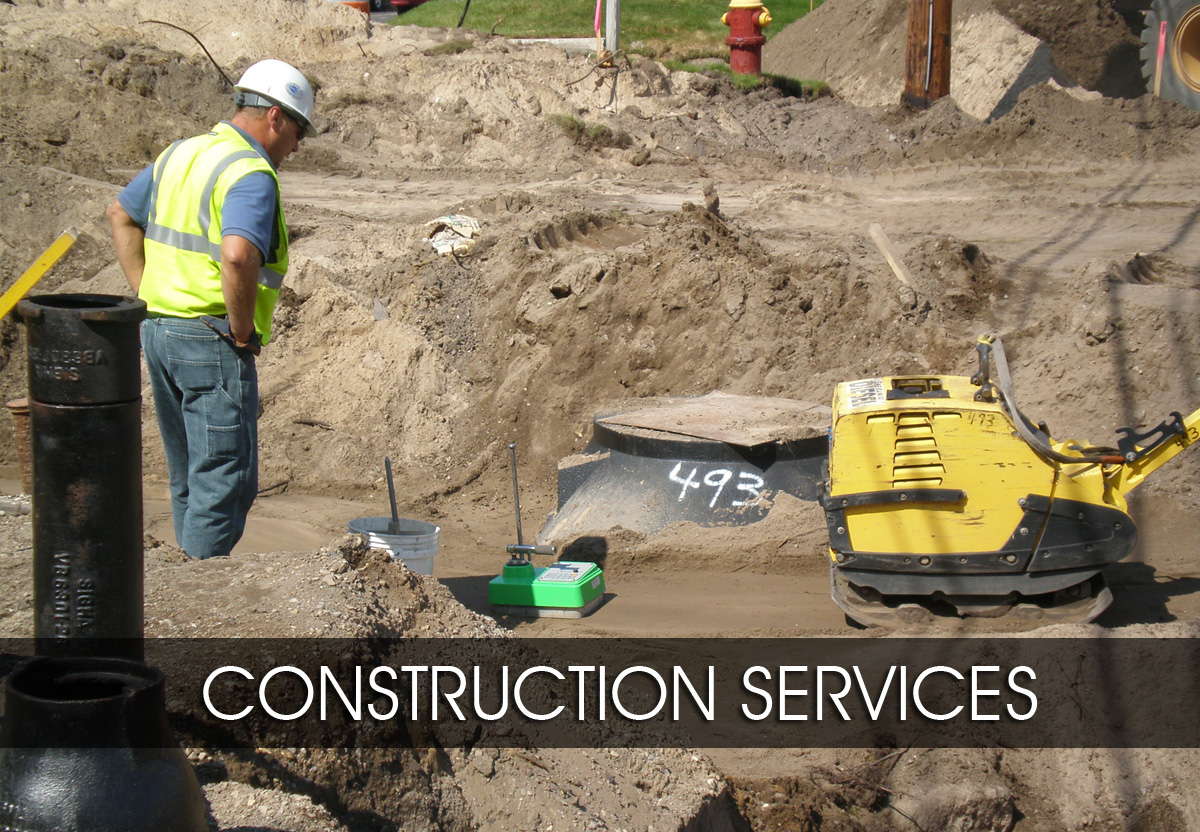 construction services and materials testing