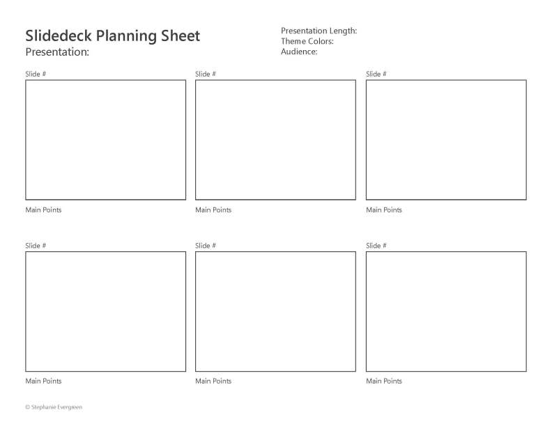 SlidedeckPlanningSheet