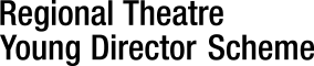 Regional Theatre Young Director Scheme logo