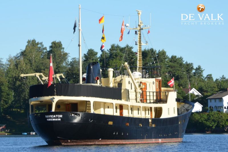 CLASSIC STEEL MOTOR YACHT Motor Yacht For Sale De Valk