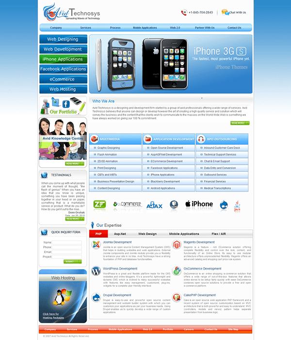 Software Development Company Joomla Website Designing & Development
