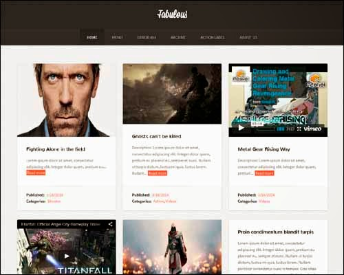 Fabulous Blogger Template