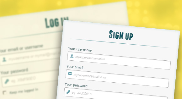 Here are some of the top ways our creators use sign up forms. 50 Template Login Page Gratis Terbaik Untuk Website Anda Devaradise