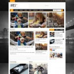 Ares Magazine blogger template