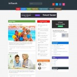 intouch magazine blogger template