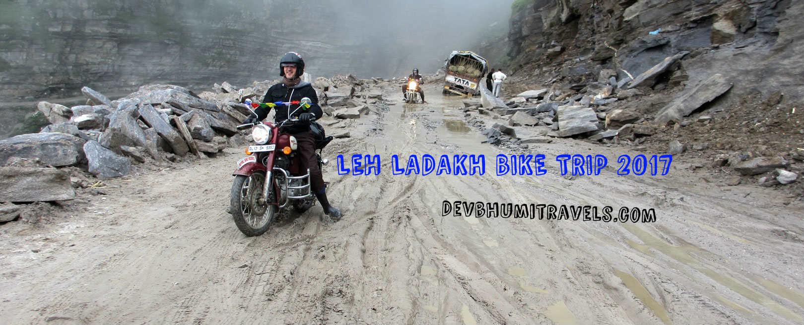 LEH LADAKH BIKE TRIP 2017