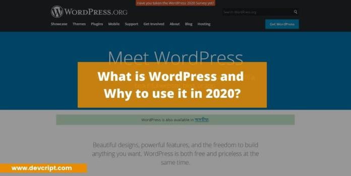 What is WordPress and why to use it in 2020?