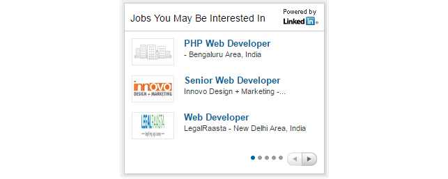 linkedin feeds - Jobs You Might Be Interested
