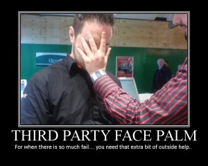 Third Party API Facepalm