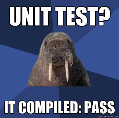 Unit Test It Compiled Pass Developer Meme