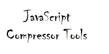 Collection of JavaScript Compressor Tools