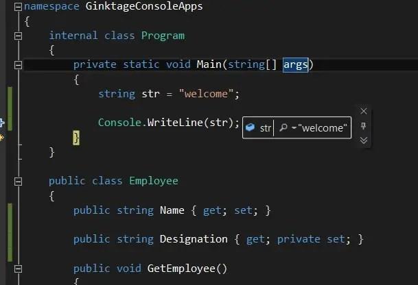 Visual Studio 2012 Tips and Tricks - Pin DataTip
