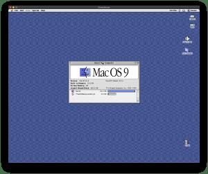 Emulating Mac OS 9 on macOS 10.15