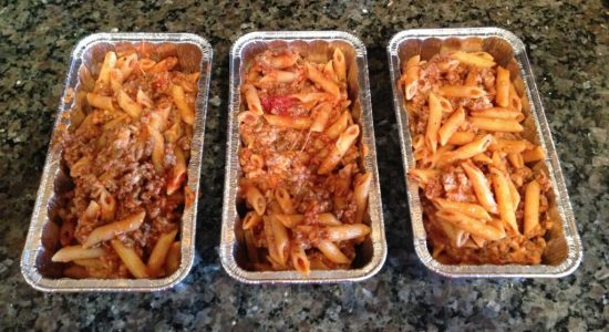 One of those easy freezer meals to make ahead is the delicious Baked Ziti.