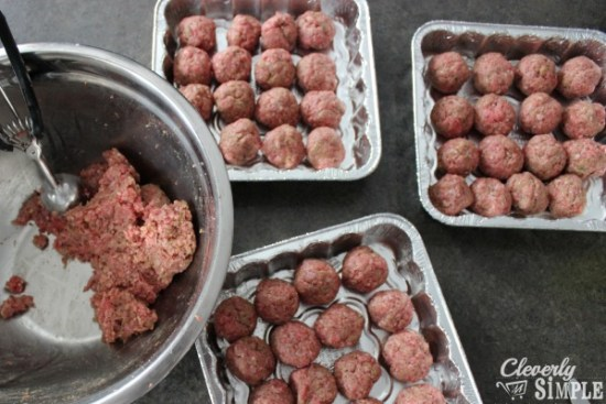 One of the easiest make ahead meals to freeze is meatballs.