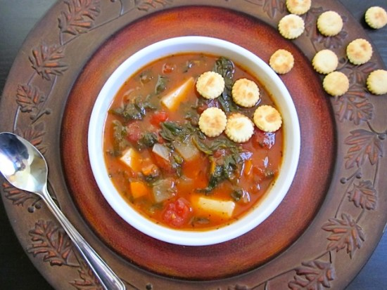 Want some healthy freezer meals for two? Try this healthy swamp soup recipe.