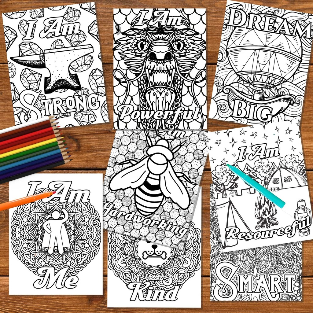 31 Growth Mindset Coloring Pages For Your Kids Or Students