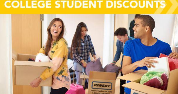 Penske College Student Discounts