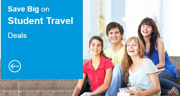 Save Big on Student Travel Deals by cheapoair.com