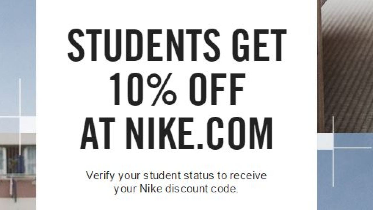 arrendamiento delincuencia sexo  Students Get 10% Off At Nike.Com 2019 2020 - Developing Career