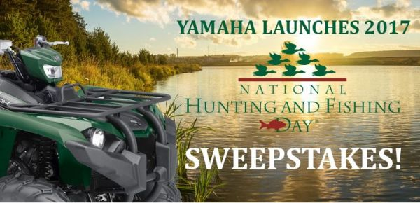 Yamaha – National Hunting & Fishing Day Sweepstakes