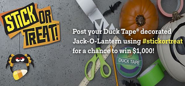 Duck Tape Brand Duct Tape Stickortreat Contest