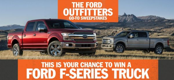 Ford Outfitters Go To Sweepstakes
