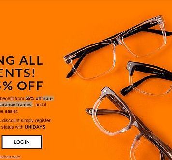Get 55% Off on Non Premium and Non Clearance Frames