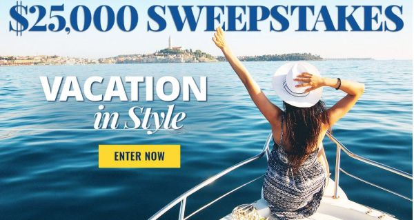 Meredith Corporation Vacation in Style Sweepstake