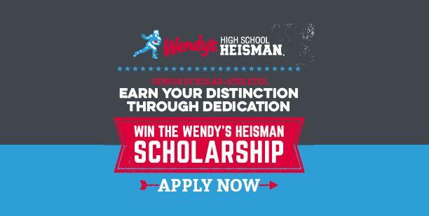 Wendy's High School Heisman Scholarship
