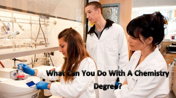 What Can You Do With A Chemistry Degree?