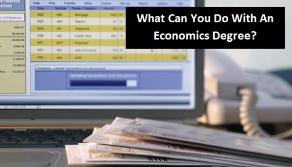 What Can You Do With An Economics Degree?