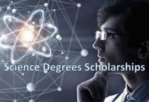 Science Degrees Scholarships