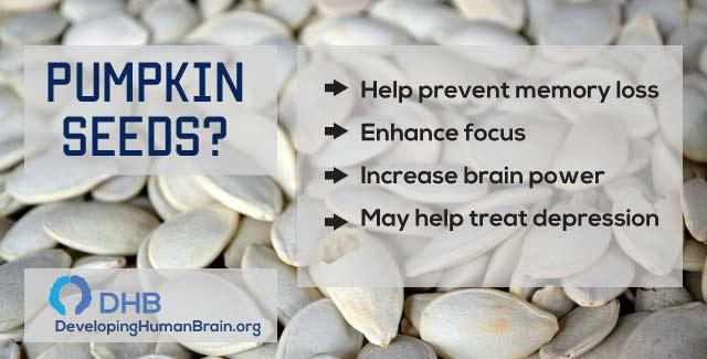 pumpkin seeds for brain