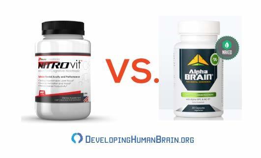 nitrovit vs alpha brain